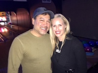 Moonjumpers Charitable foundation, Inc. help support YDA Bowl-A-Roma Keith Samaroo & Kim Shope