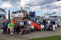 Moonjumpers support Hands Together Fish Trip