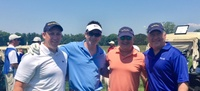 Moonjumpers Billy Arasa, Jimmy Kuhn, Ray Homburger & Rob Benson helped support our friends at the Boy Scouts of America, Suffolk County Council at their 45th Annual Good Scout Golf Tournament at the Huntington Country Club.