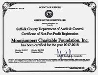 2018 Moonjumpers Certificate of Registration