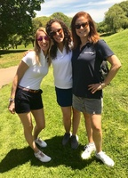 Moonjumpers support Kiwanis - Lauren Perry, Alanna Russo, Melanie Mazzeo