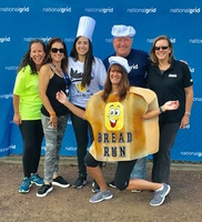 Moonjumpers Charitable Foundat, Inc. along with National Grid and PSEGLI help support Bread Run Corp and Island Harvest - Alanna Russo, Lauren Perry, Danielle Rubenfeld, Marilyn Reid, Rob Benson & Joan Flynn