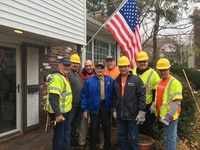 Moonjumpers and PSEGLI help a WWII Veteran in need - Ray Homburger