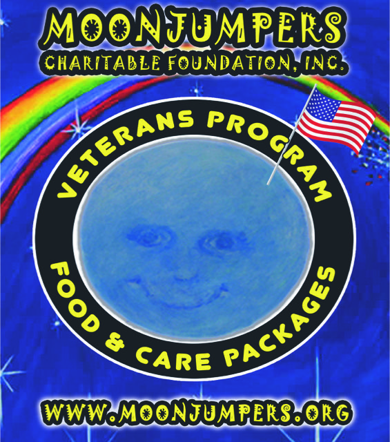 Moonjumpers Veterans Food Program Logo